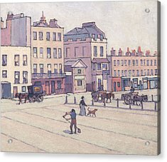 The Weigh House, Cumberland Market Acrylic Print by Robert Bevan