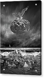 Acrylic Print featuring the photograph The Weight Is Lifted by Randall Nyhof