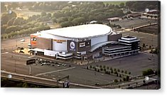 The Wells Fargo Center Acrylic Print by Bill Cannon