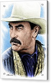 The Western Collection Monty Walsh Acrylic Print by Andrew Read