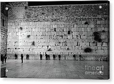 The Western Wall, Jerusalem 2 Acrylic Print