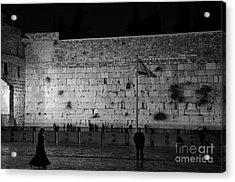 The Western Wall, Jerusalem Acrylic Print