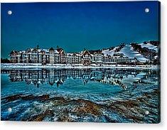 The Westin On Ice Acrylic Print