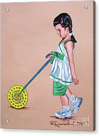 The Wheel - La Rueda Acrylic Print