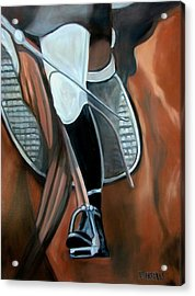 The Whip Acrylic Print by Donna Thomas