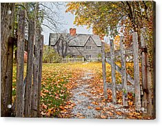 The Whipple House Acrylic Print by Susan Cole Kelly