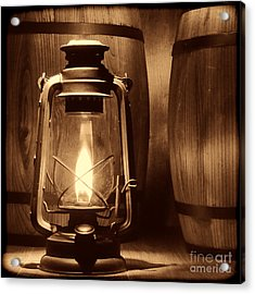 The Whiskey Reserve Acrylic Print by American West Legend By Olivier Le Queinec