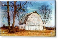 The White Barn Acrylic Print