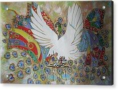 The White Eagle Acrylic Print