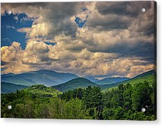 The White Mountains Acrylic Print