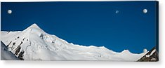 The White Summit Acrylic Print by Konstantin Dikovsky