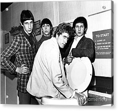 The Who 1966 Acrylic Print by Chris Walter