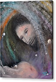 The Whole World Acrylic Print by Penny Neimiller
