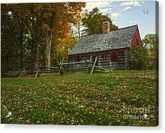 The Wick House Acrylic Print