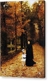 The Widow Acrylic Print by Horace de Callias