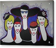 The Widow Ladies Acrylic Print
