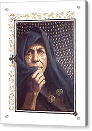The Widow's Mite - Lgtwm Acrylic Print