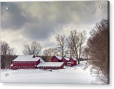 Acrylic Print featuring the photograph The Williams Farm by Susan Cole Kelly