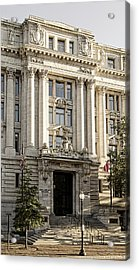 Acrylic Print featuring the photograph The Wilson Building by Greg Mimbs