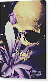 The Wilted Weather Underground Acrylic Print