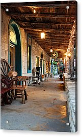 The Wimberley Square  Acrylic Print