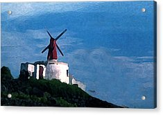 The Windmill Acrylic Print by Cabral Stock
