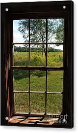 Acrylic Print featuring the photograph The Window 2 by Joanne Coyle
