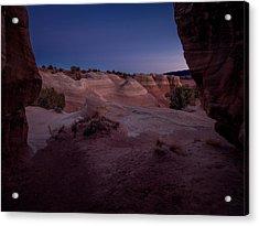 The Window In Desert Acrylic Print