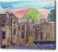 The Window Acrylic Print by Joseph Demaree