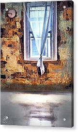 Acrylic Print featuring the digital art The Window by Pennie McCracken