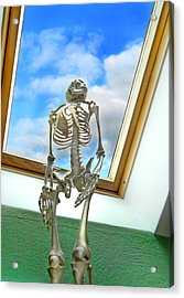 The Window Acrylic Print by Robert Lacy