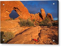 Acrylic Print featuring the photograph The Window by Steve Stuller