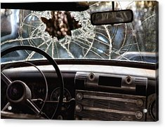 The Windshield  Acrylic Print