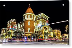 The Windsor Hotel - Americus, Ga Acrylic Print by Stephen Stookey