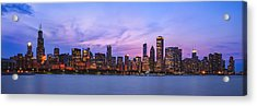The Windy City Acrylic Print by Scott Norris