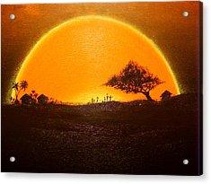 The Wisdom Tree Acrylic Print