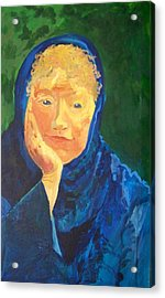 The Wise And Knowing Crone Acrylic Print by Ellen Seymour