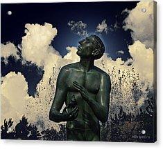 The Wish Acrylic Print by Garth Glazier