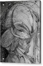 The Wizard Of Earth-sea Acrylic Print