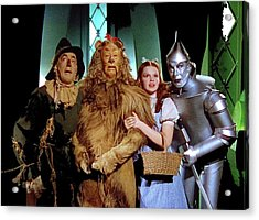 The Wizard Of Oz  Quartet Eric Carpenter Publicity Kodachrome 1939 Acrylic Print