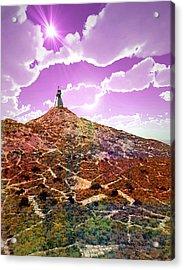 The Wizzard Acrylic Print