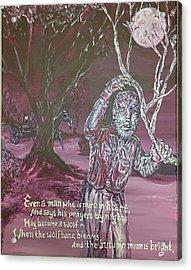 The Wolf Man, 1941 Acrylic Print