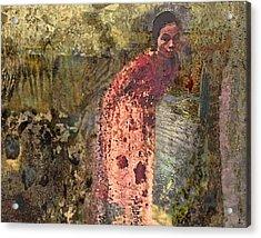 The Woman At His Tomb Acrylic Print