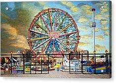 The Wonder Wheel  Acrylic Print