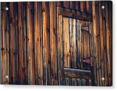The Wonders Of Wood Acrylic Print by Ross Powell