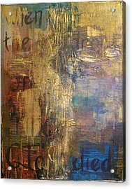 The Wondrous Cross Acrylic Print by Donielle Boal