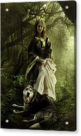 The Wood Witch Acrylic Print