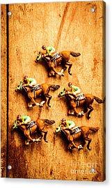 The Wooden Horse Race Acrylic Print