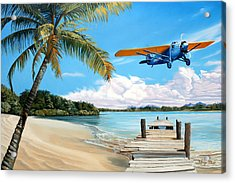 The Woolaroc Acrylic Print by Kenneth Young