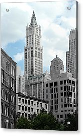 The Woolworth Building - Nyc Acrylic Print